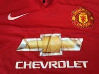 Classic Football Shirts | 2014 Manchester United Vintage Old Soccer Jerseys